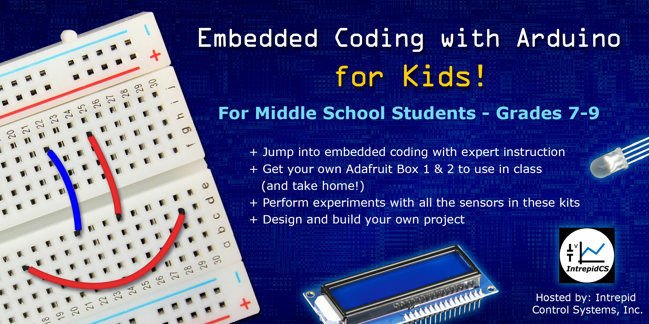 Embedded Coding for Kids Announcement
