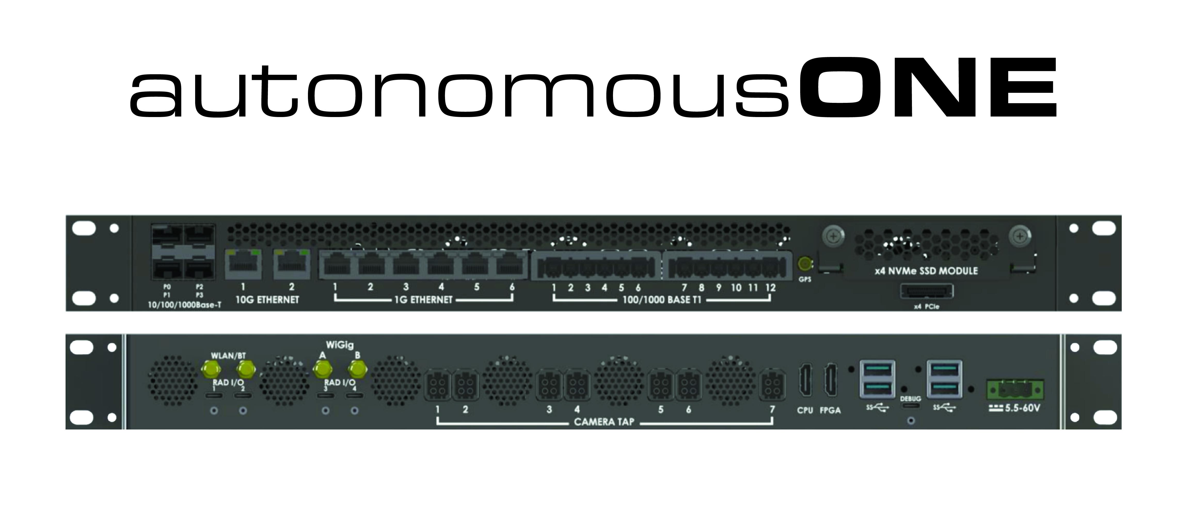 Autonomous ONE