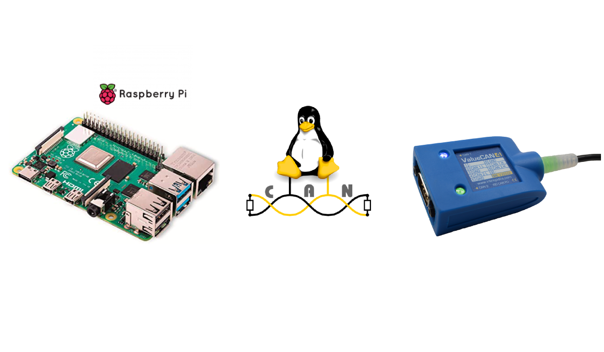 How to use SocketCAN on a Raspberry Pi 4 (Linux) using ValueCAN 4