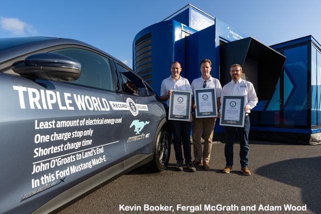 Ford UK Triple World Record