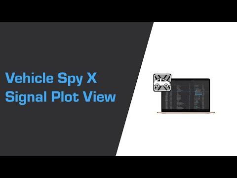 Vehicle Spy X Signal Plot View