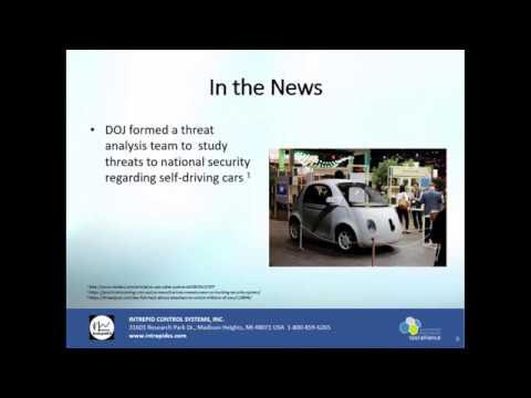 Automotive Cybersecurity Update by Robert Leale (Intrepid Tech Days '18)
