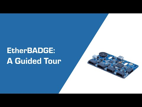 Guided Tour Of EtherBADGE