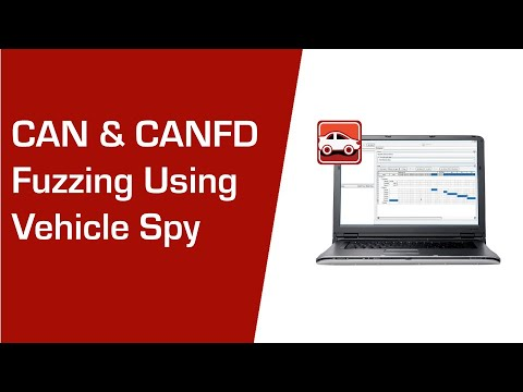 Get to know Fuzzer View in Vehicle Spy