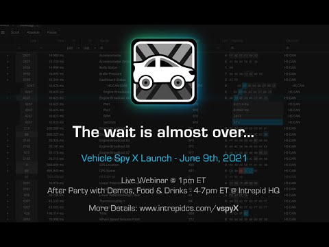 Vehicle Spy X Teaser - Join us on June 9th, 2021