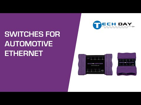Switches for Automotive Ethernet (Intrepid Tech Days '18)