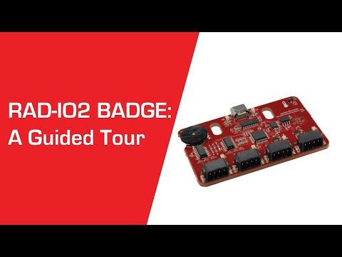 RAD-IO2 BADGE — A Guided Tour