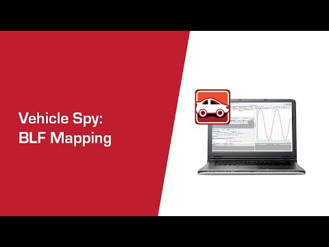 How to Set BLF Mapping in Vehicle Spy