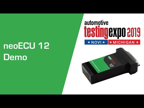 neoECU 12 - Low-Cost Embedded ECU with CAN FD and Digital Input/Output