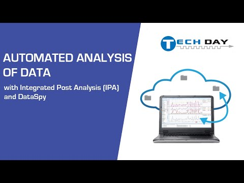 Automated Analysis of Data with Integrated Post Analysis (IPA) and DataSpy (Intrepid Tech Day '19)