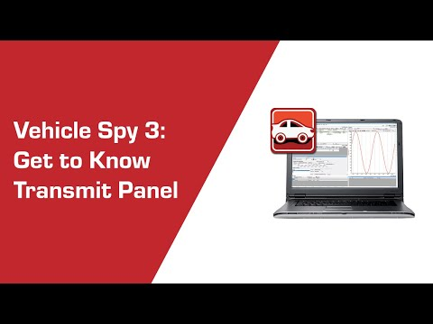 Get to know Transmit Panel in Vehicle Spy