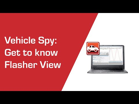 Get to know ECU Flasher View in Vehicle Spy