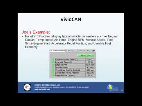 VividCAN - CAN Display with Programmable Touchscreen with Use Cases (Intrepid Tech Days '18)