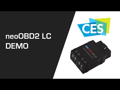 neoOBD 2 LC: Low-Cost Open Platform OBD Interface for Automotive IoT Demo at CES 2020