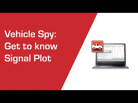 Use the Signal Plot to plot Vehicle Spy signals in real time