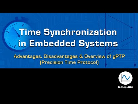 Time Synchronization in Embedded Systems, overview of gPTP (Precision Time Protocol)