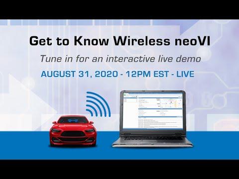 Get to Know Wireless neoVI - Live Webinar