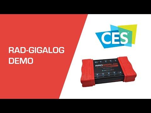 RAD-Gigalog: Log Everything! 12+ Terabytes of Vehicle Data at CES 2020