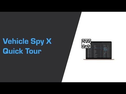 Vehicle Spy X Quick Tour