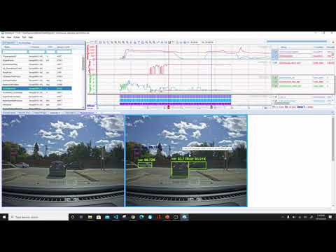 Analysis of Vehicle Network Data Integrated with Video Object Detection