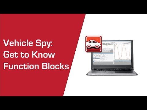 Get to know Function Blocks Expression Builder in Vehicle Spy
