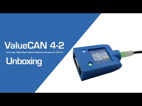 Unboxing ValueCAN 4-2: Low-Cost, High-Performance Vehicle Network Interface for CAN and CAN FD
